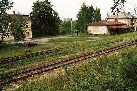 Budova starého nádraží v Hranicích u Aše. Foto: archiv Karlovarský kraj