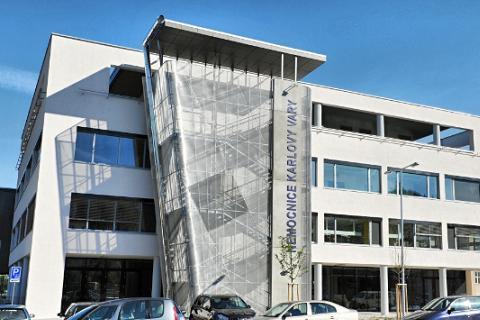 Nemocnice Karlovy Vary. Foto: Nemocnice KV