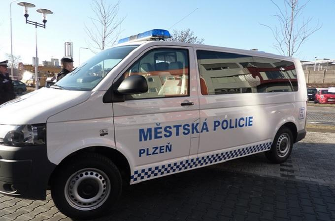 Vozidlo Městské policie Plzeň. Foto: archiv MP Plzeň
