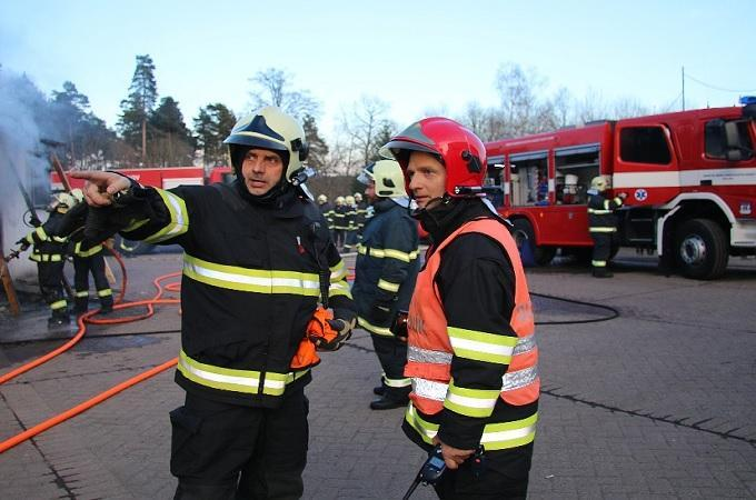 Požár, ilustrační snímek. Foto: HZS Libereckého kraje